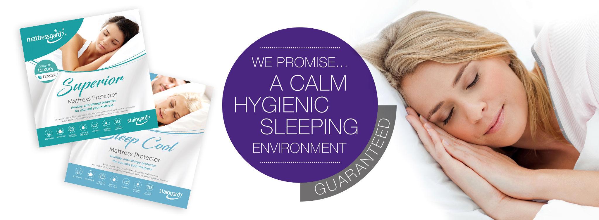 anti-allergy mattress protectors
